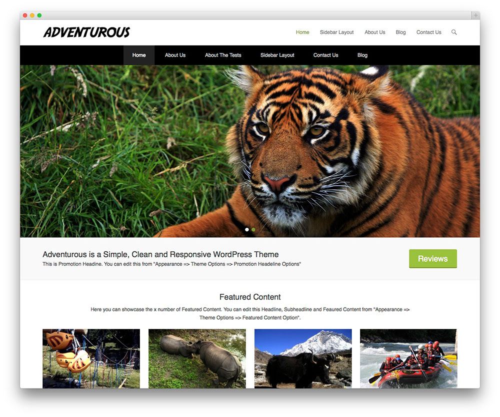 Adventurous Themes Download