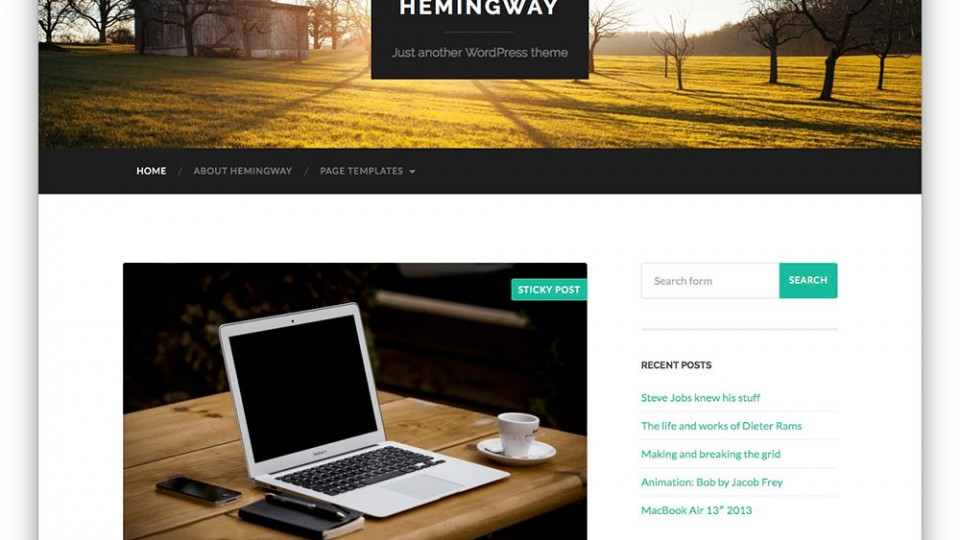 Hemingway Themes Download