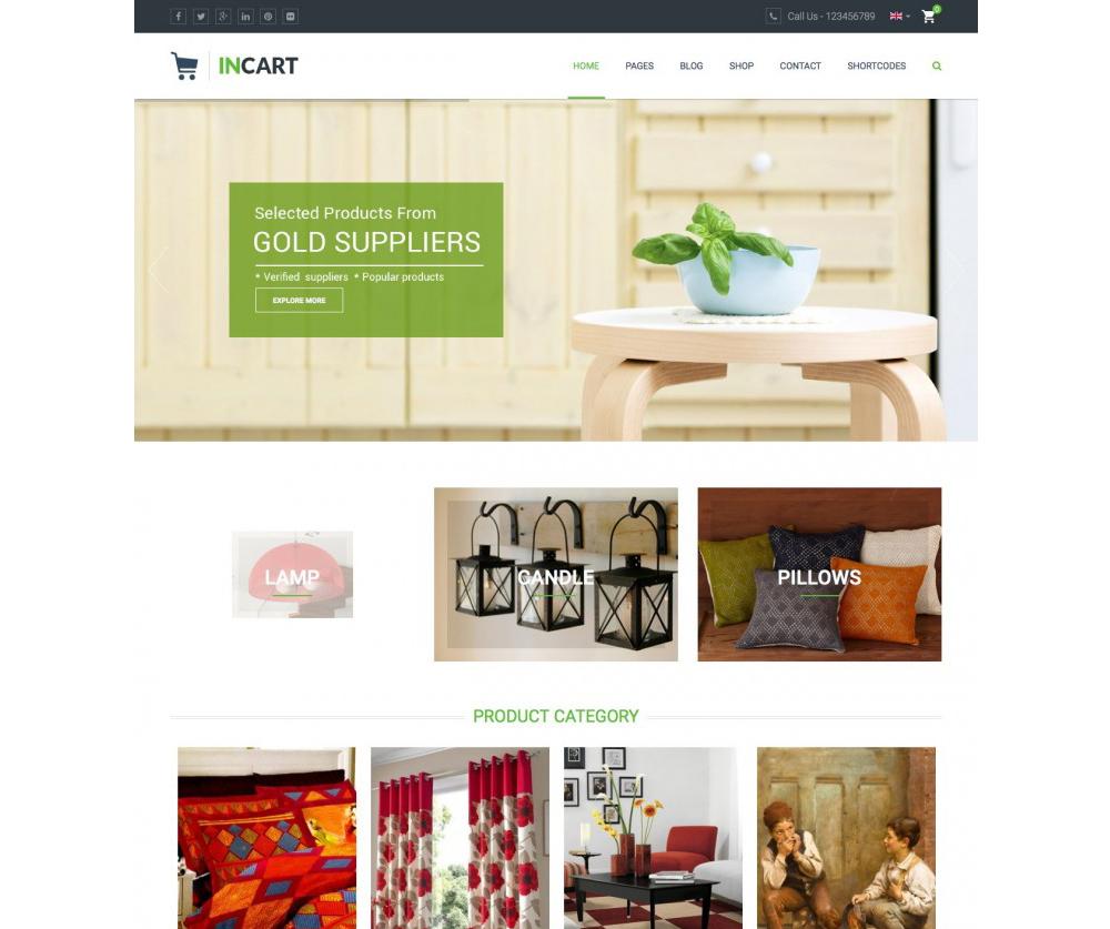 InCart Theme WordPress Download
