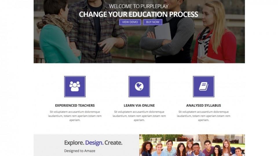PurplePlay Lite WordPress Themes Download