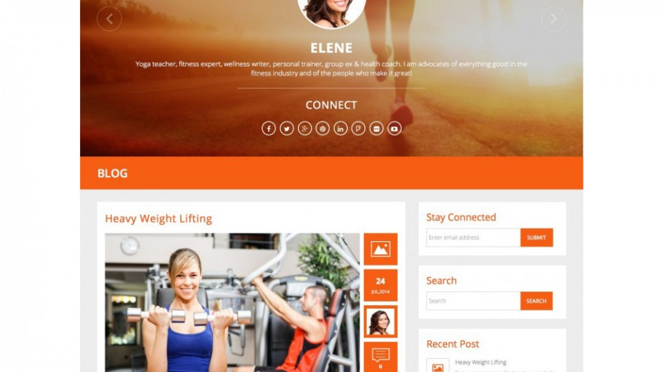 Convac Lite WordPress Theme Download