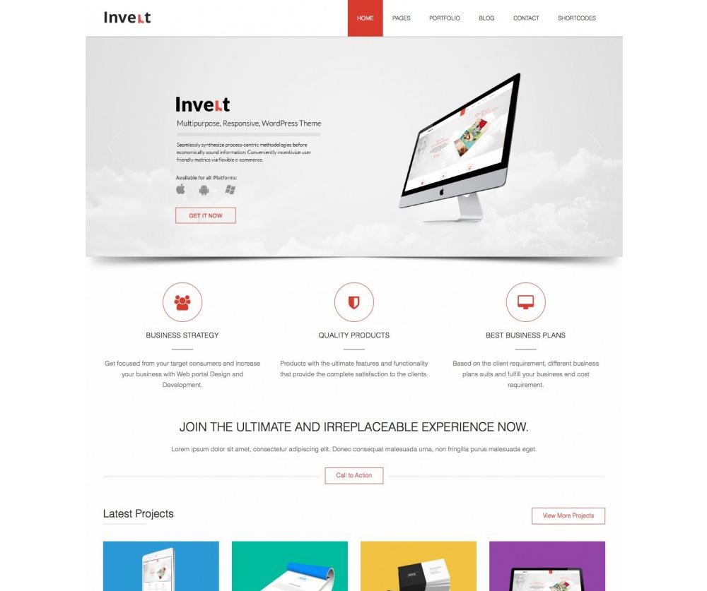 Invert Lite WordPress Theme Download