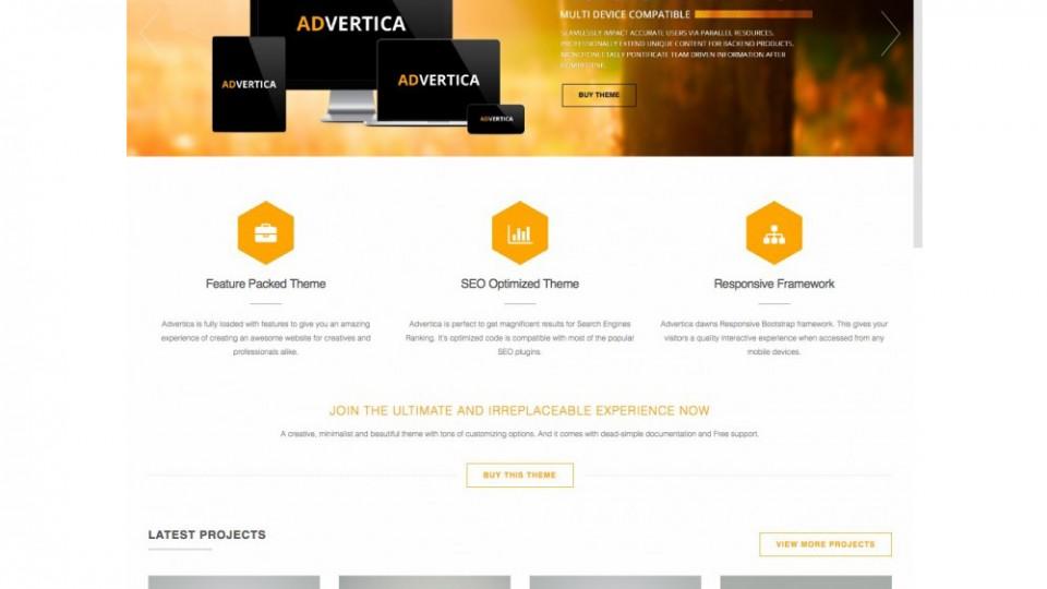 Advertica Lite Wodpress Theme Download
