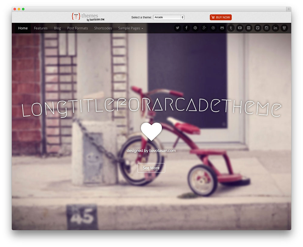Arcade Basic WordPress Themes Download