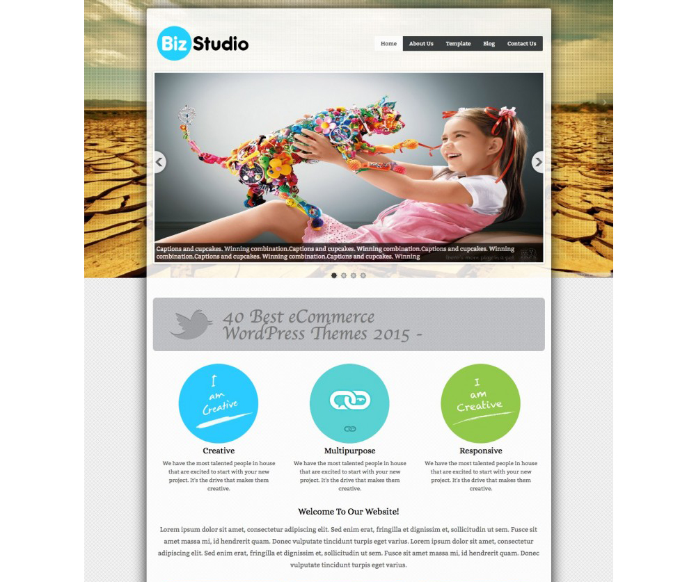 BizStudio Lite WordPress Theme Download