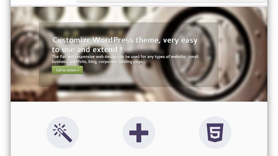 Customizr WordPress Themes Download