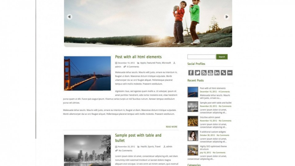ExoticView WordPress Theme