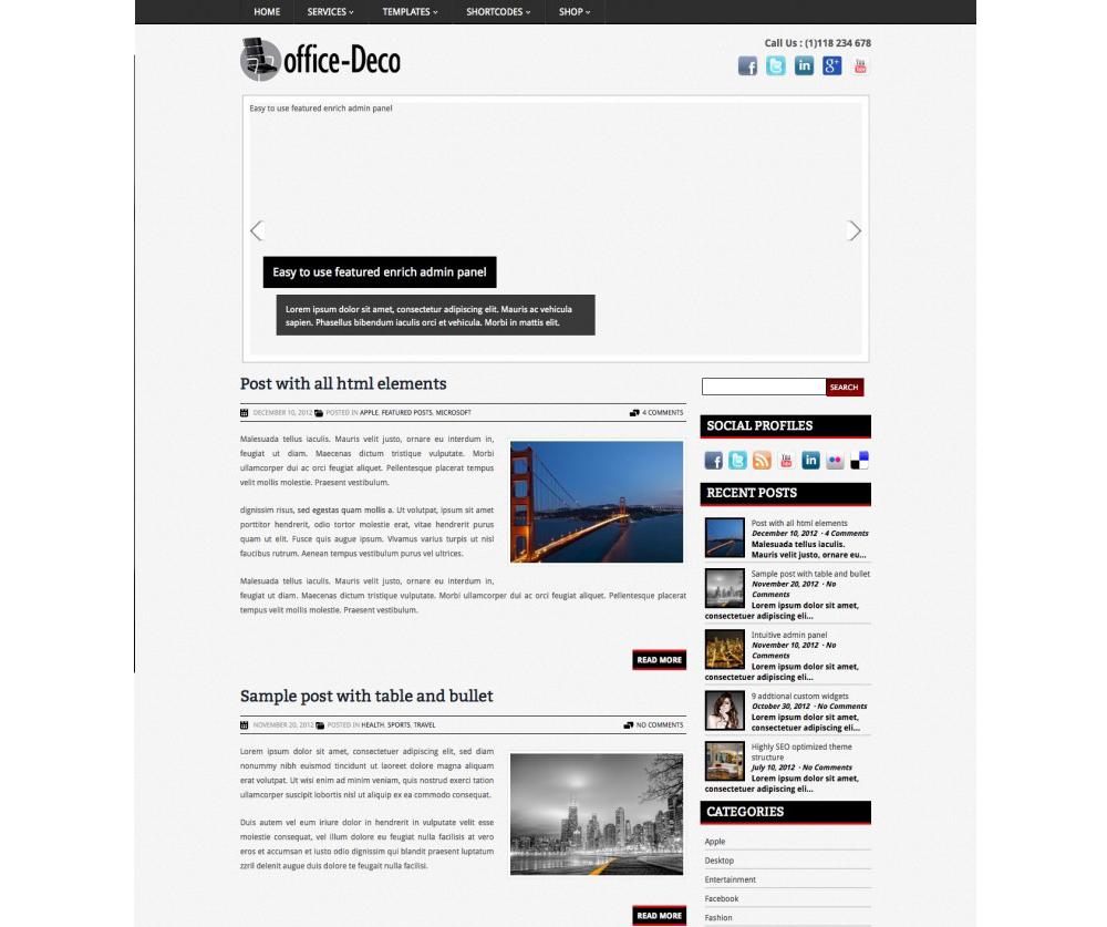 OfficeDeco WordPress Download
