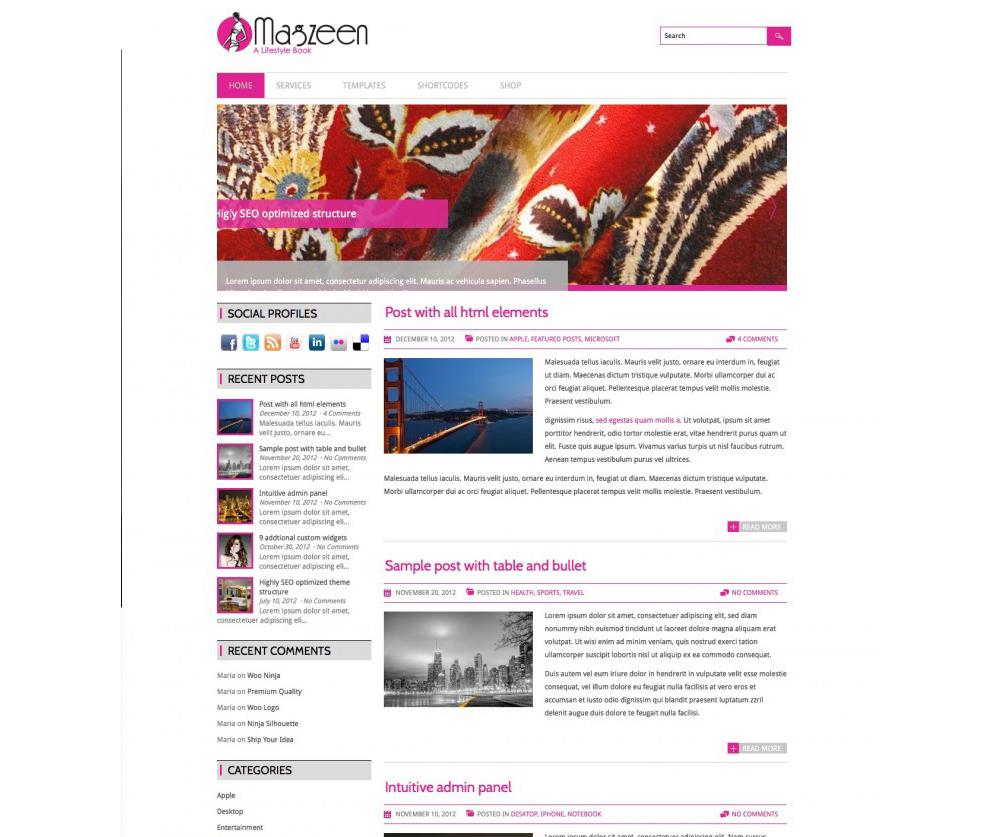 Magzeen WordPress Theme Download