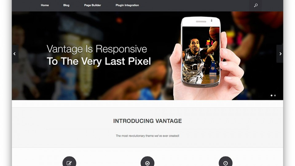 Vantage WordPress Themes Download