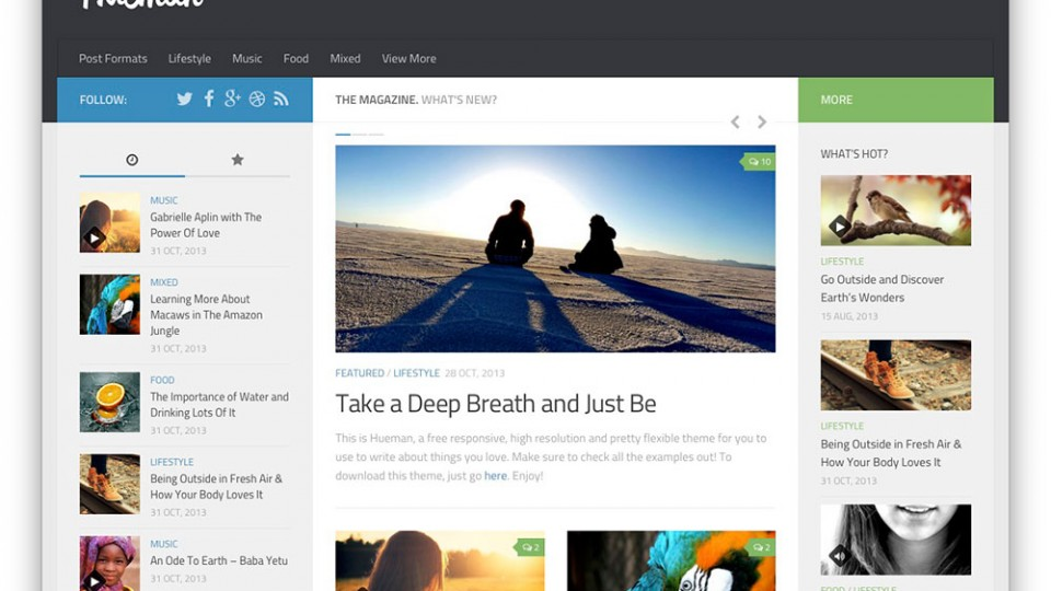 Hueman WordPress Themes Download