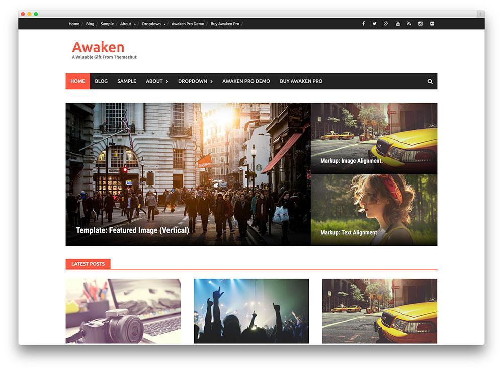 Awaken WordPress Themes Download
