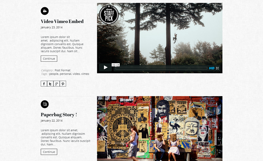 Munding Lite WordPress Theme