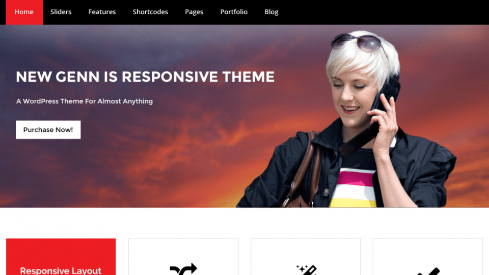 NewGenn WordPress Theme