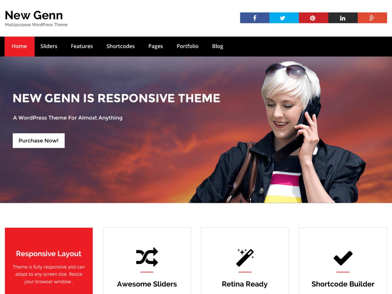 NewGenn WordPress Theme