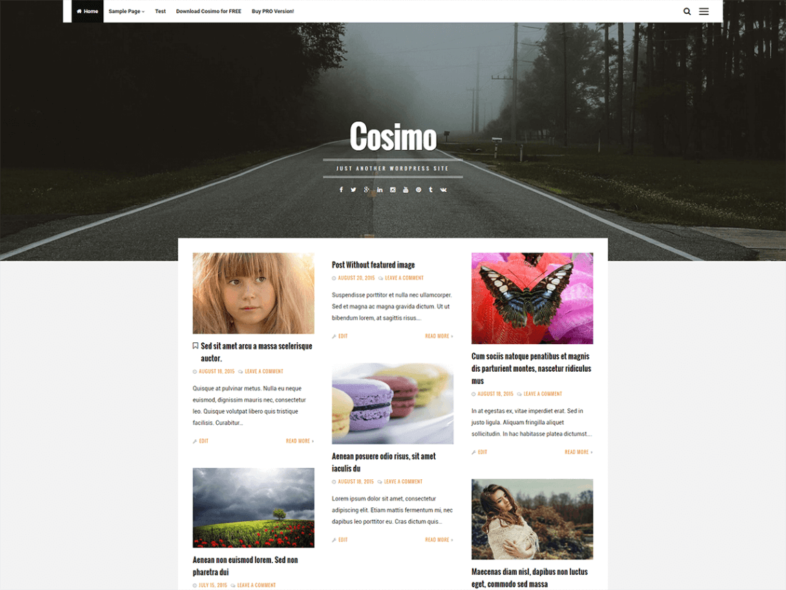Cosimo WordPress Theme