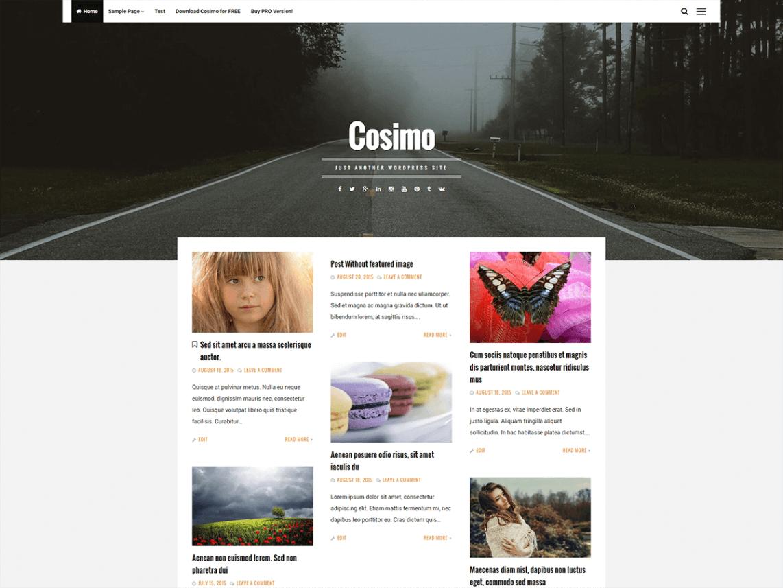 Cosimo WordPress Theme