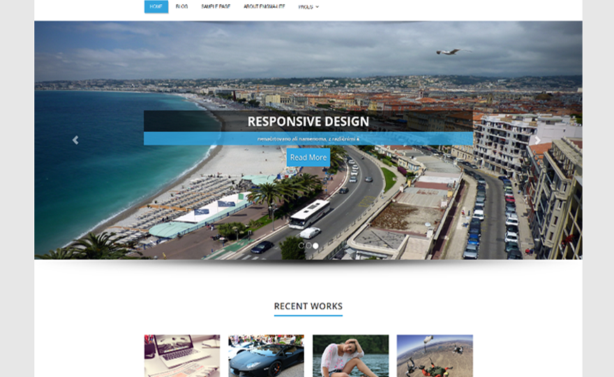 Cista WordPress Theme