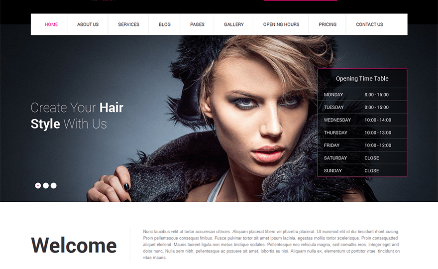 CutsNStyle WordPress Theme