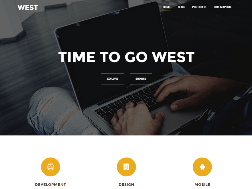West WordPress Theme Download