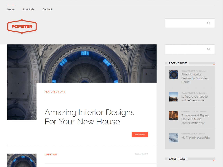 Popster WordPress Theme