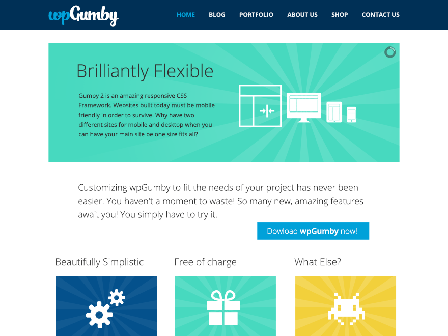 WPGumby WordPress Theme
