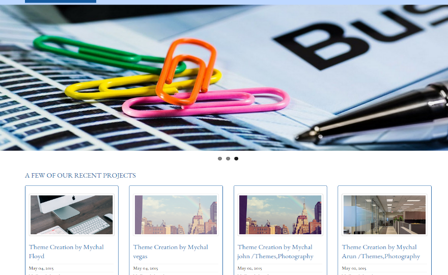 Business Group – VSS WordPress Theme