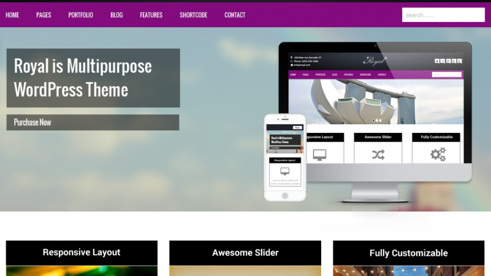 Royal WordPress Theme
