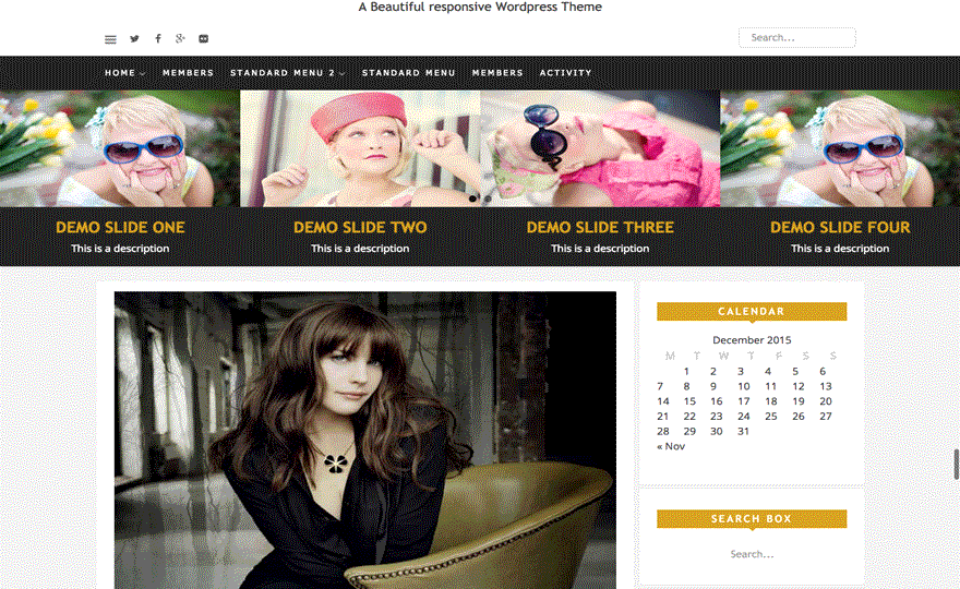 Estella WordPress Theme