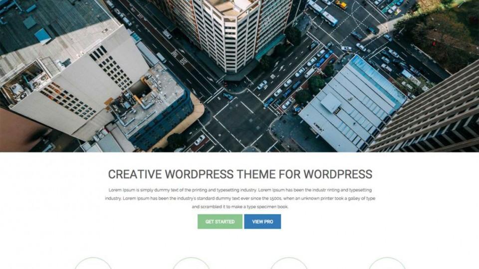 sleeky WordPress Theme