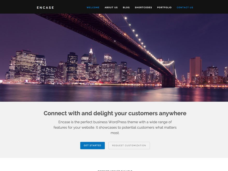 Encase WordPress Theme