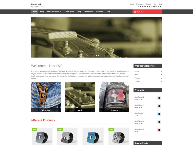 Nova WordPress Theme Download
