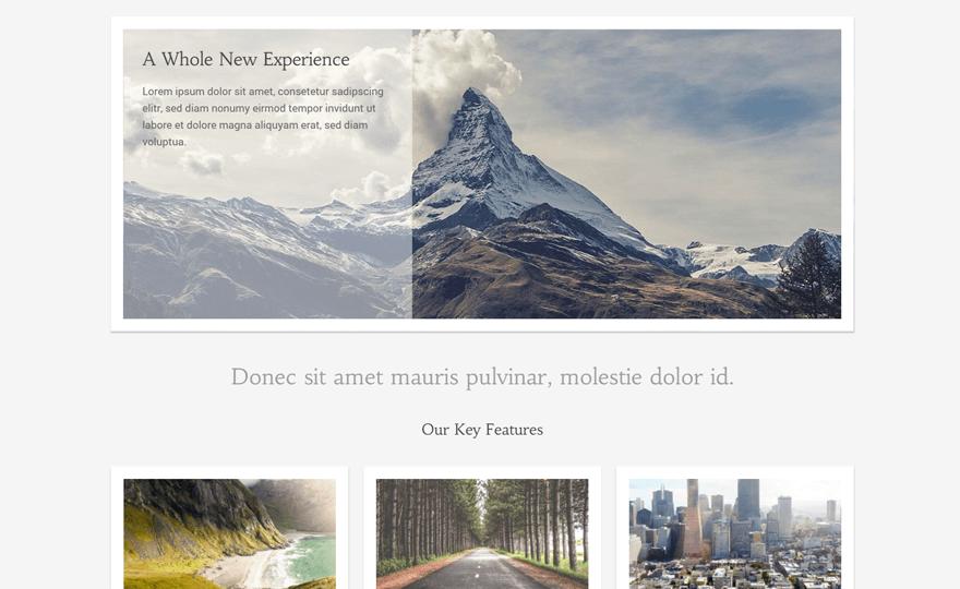 Illustrious WordPress Theme Download