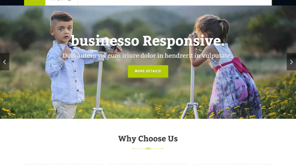 Businesso WordPress Theme Download