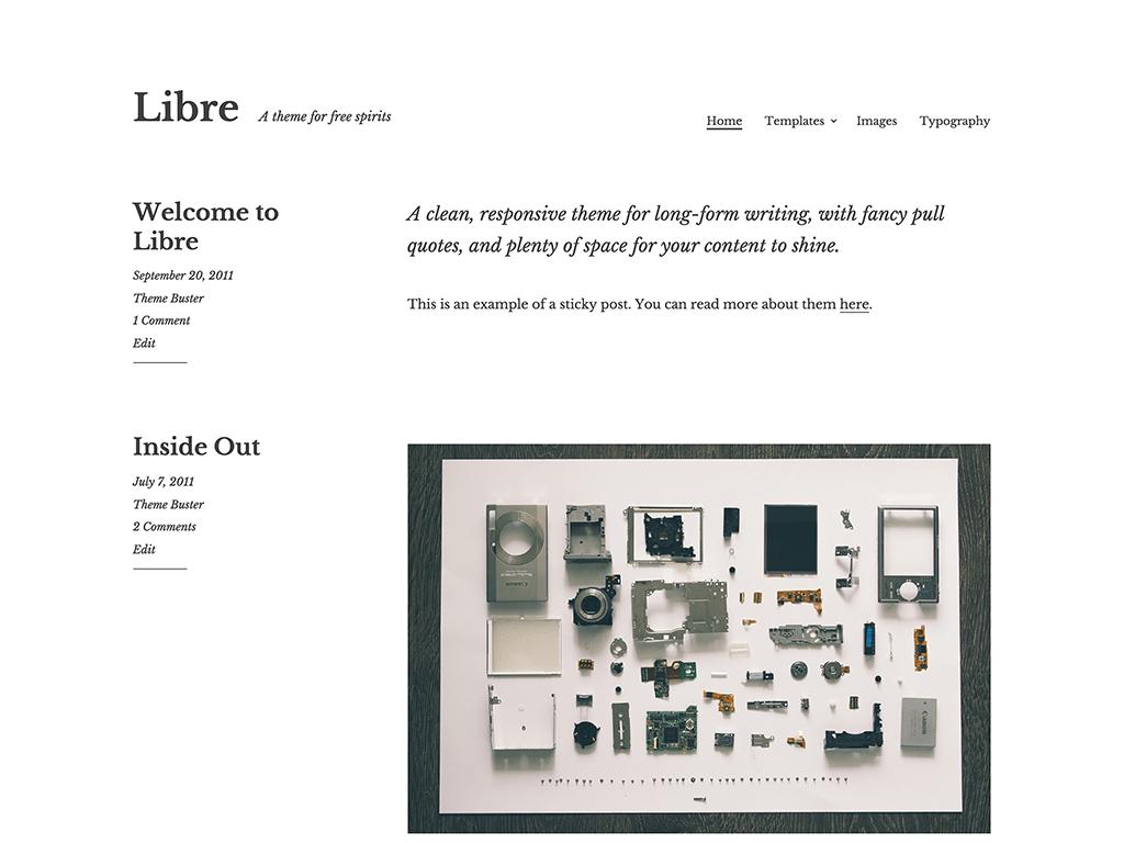 Libre WordPress Theme Downlo