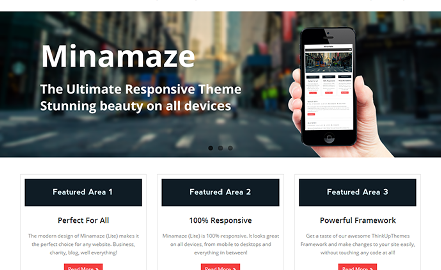 Minamaze WordPress Theme Download