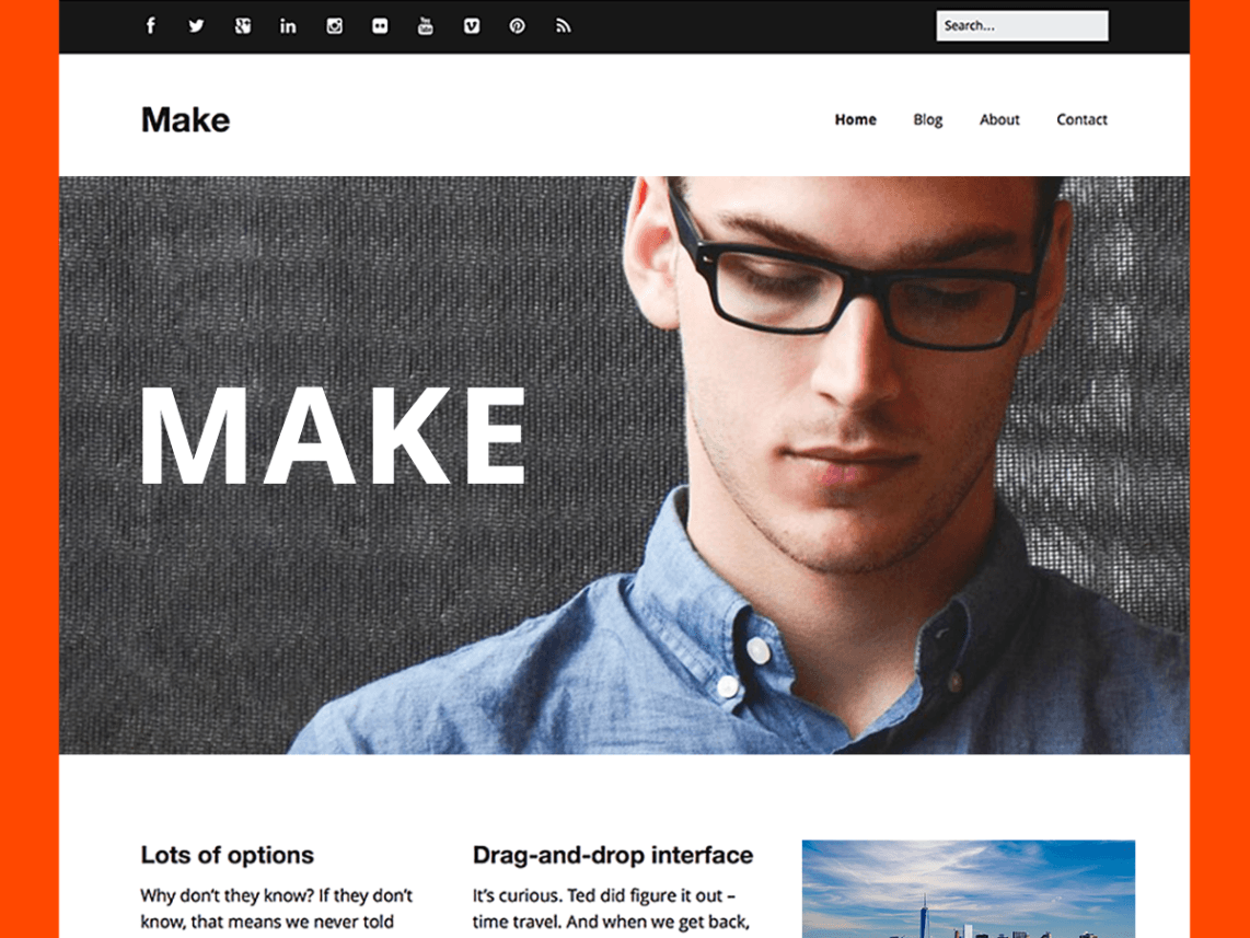 Make WordPress Theme