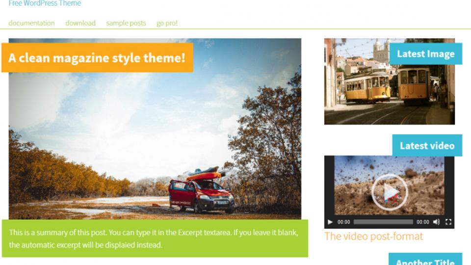 Mymagazine WordPress Theme