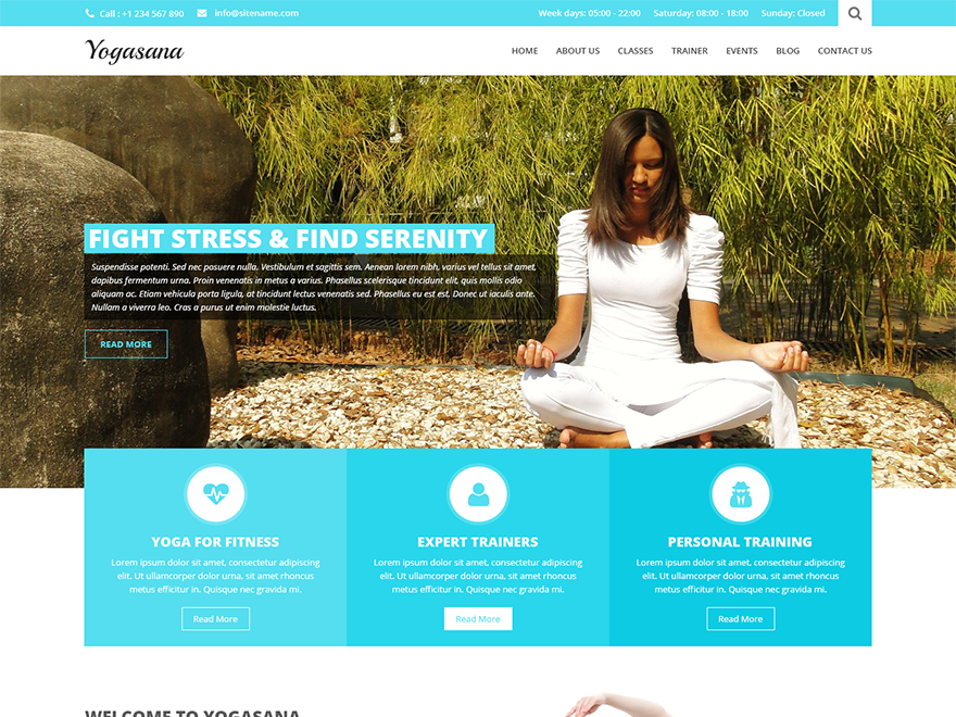 SKT Yogi WordPress Theme Download