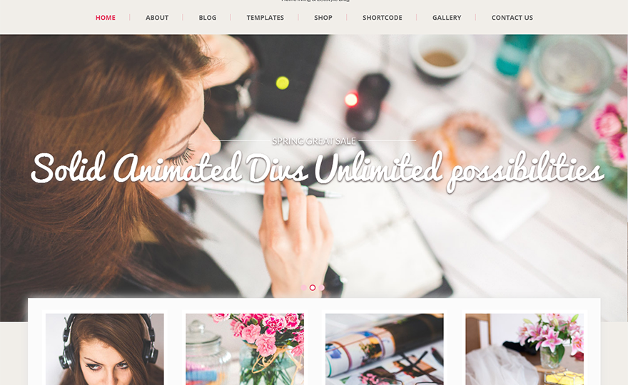 SKT Girlie WordPress Theme