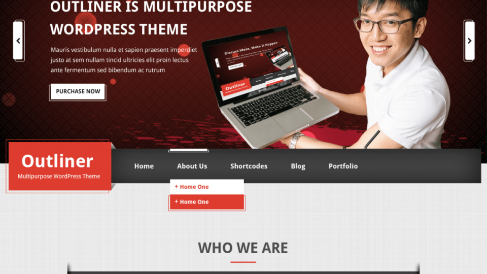 Outliner WordPress Theme