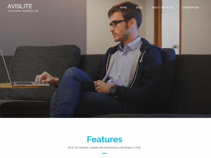 Avis Lite WordPress Theme