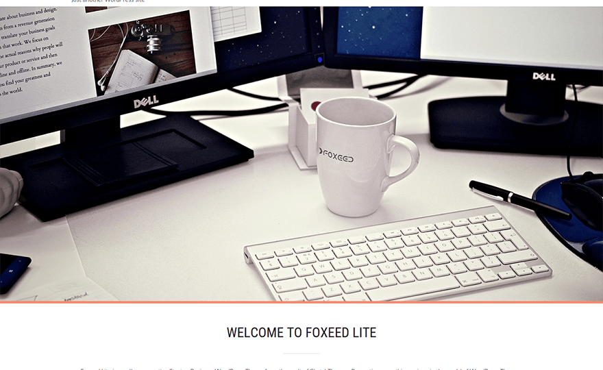 Foxeed Lite WordPress Theme