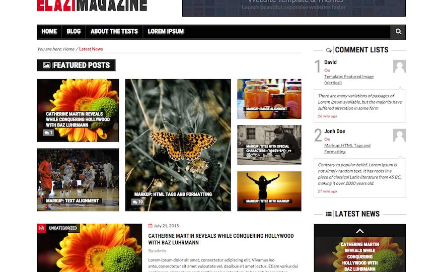 Elazi Lite WordPress Theme