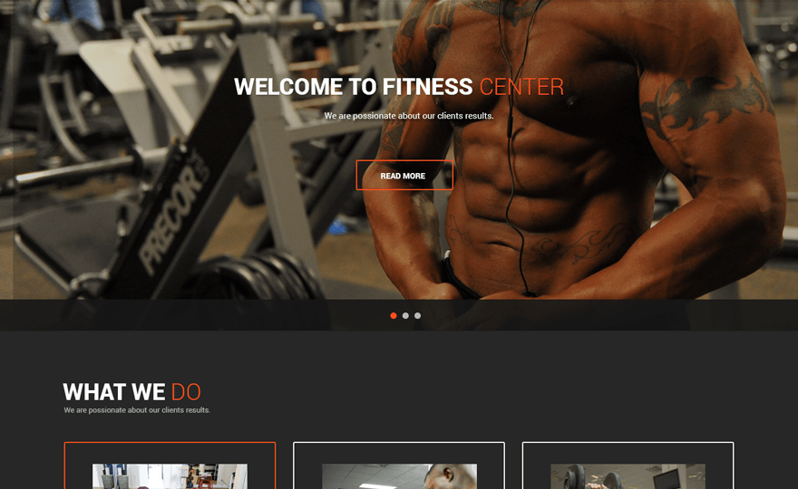 Fitness Lite WordPress Theme