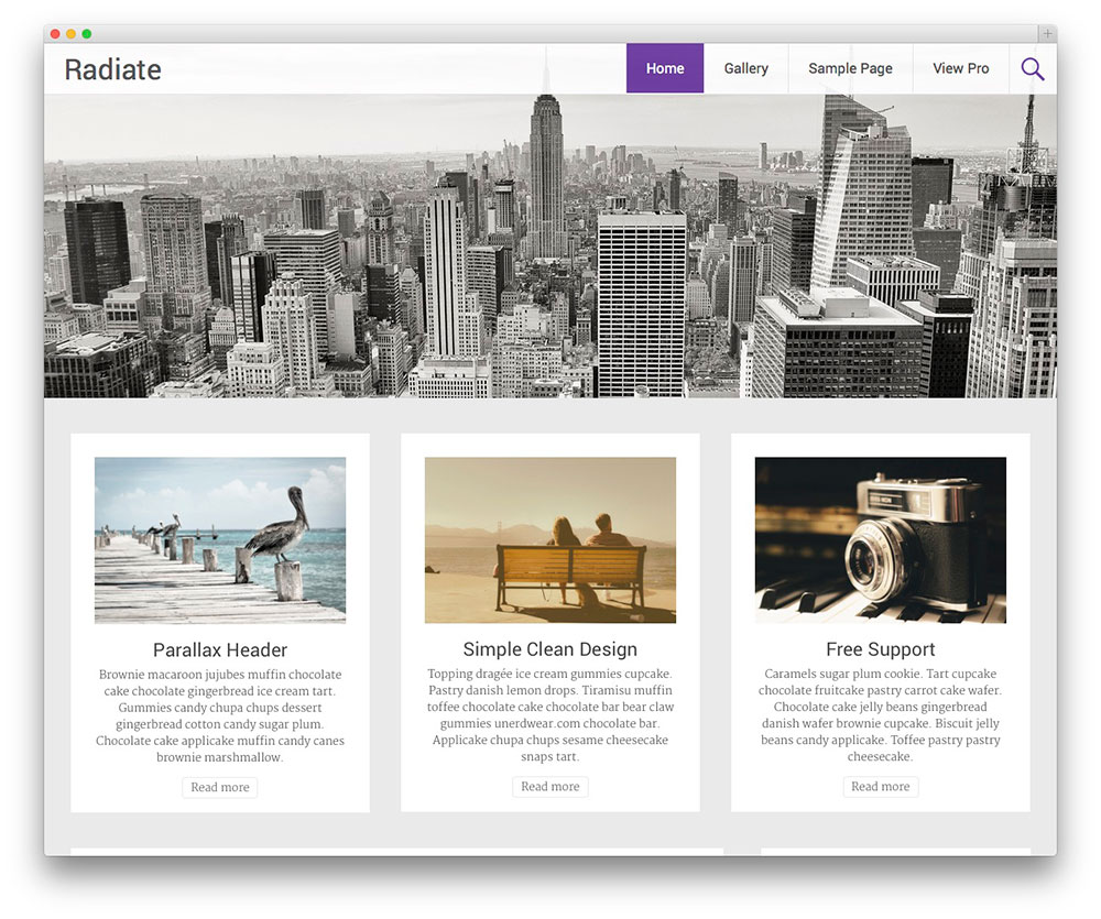 Radiate Themes Download