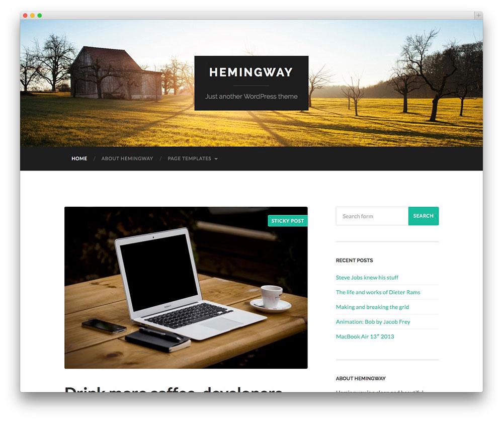 Hemingway Themes Download