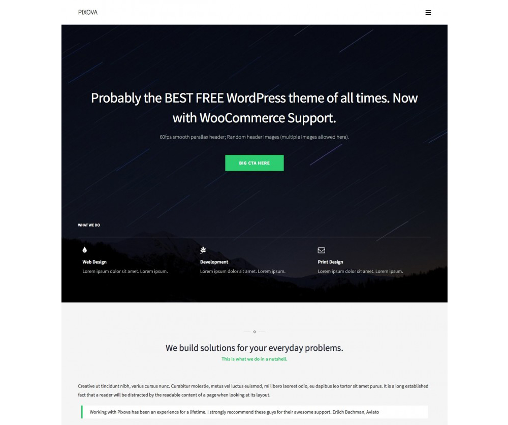 Pixova Lite WordPress Theme Download