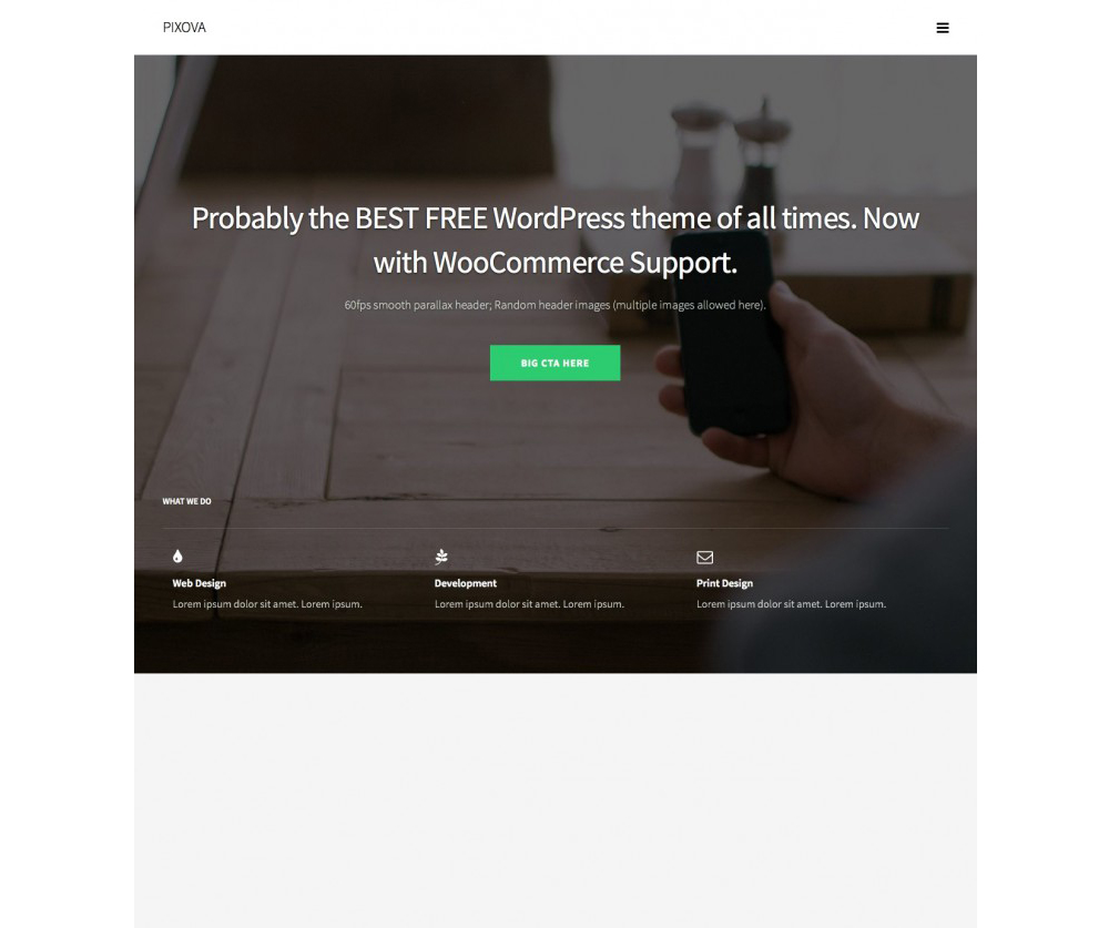 Pixova Lite WordPress Download
