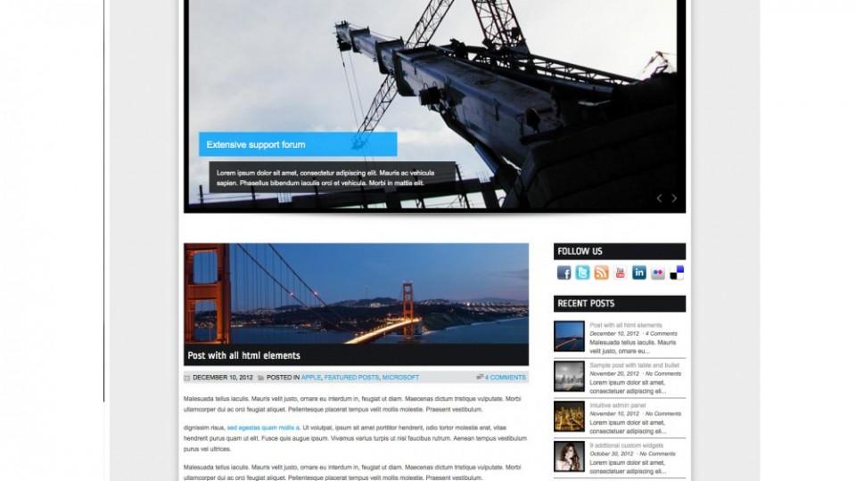 MaxBuilt by WordPress Themes